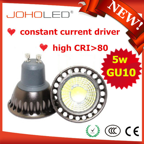 High Quality Spotlight Cob 5w warm white Gu10 Led bulbs led constant current driver