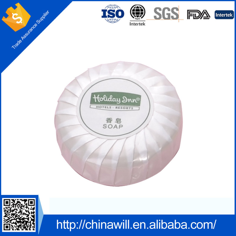 Wholesale custom logo cheap disposable hotel soap