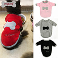 Bone Embroidering Cute Dog Cat Hoodie Pet Clothes