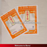 plastic clear zipper bag