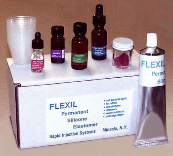 Flexil Silicone Elastomer for Relines and Gaskets