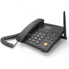 Call divert/ Call waiting support sim card desk phone/gsm wireless home phone