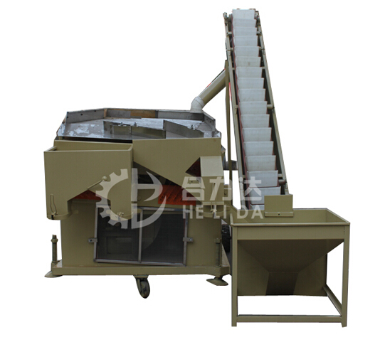 8 Tons per Hour Hemp Seeds Double Air cleaning Machine with Bucket Elevator in stock