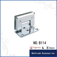 tempered glass door accessories glass hinge hardware