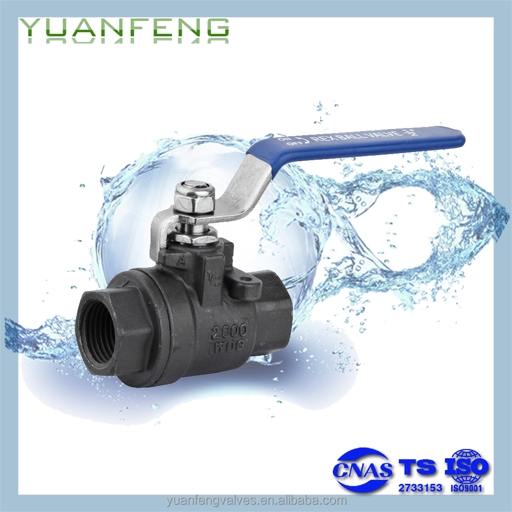 2-PC BALL VALVE(2000WOG)