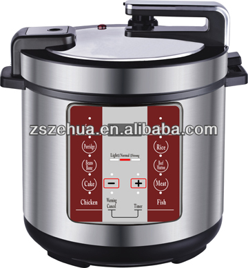 100% safety guarantee stainless steel pressure cooker