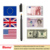 Pro Counterfeit money detector Pens for Dollars, Pesos, Euros, Pounds and other paper bill currencies