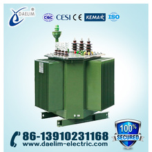 Yyn0/Dyn11 Connection Full-Sealed 20kv 250kva Distribution Transformer