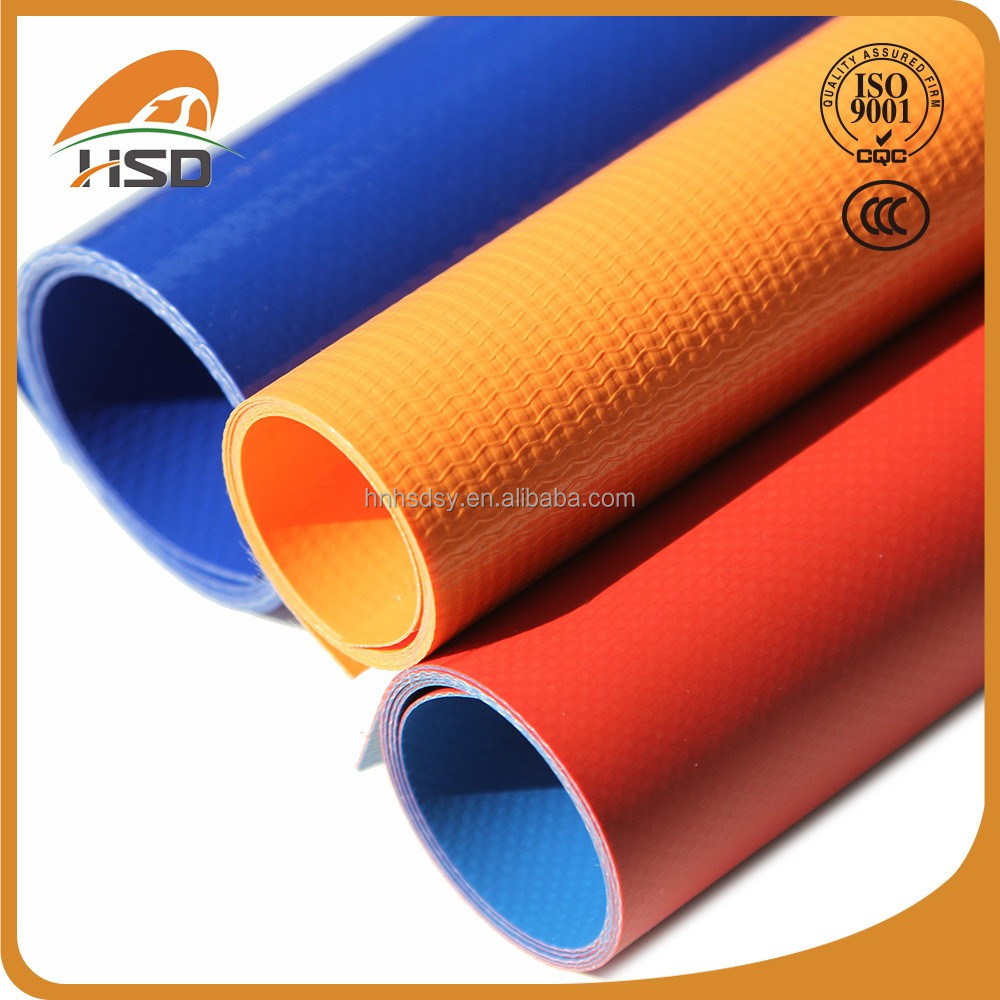 Pvc coated tarpaulin flame retardant fabric design for inflatable boat, car shed,tent