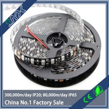5m/Lot 5050 Black PCB LED Strip 12V Flexible Decoration Lighting IP20 LED Tape RGB/White/Warm White/Blue/Green/Red
