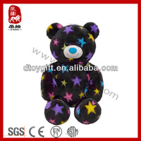 New toy 2014 import for bear valentines birthday wholesale wedding/home decoration stuffed star teddy bear plush toy bear