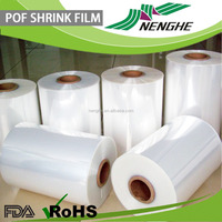 Transparent Transparency shrink polyolefin film plastic tube