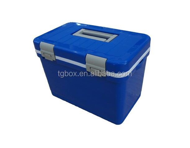 12L PU insulation portable fishing outdoor cooler box,food/ourdoor/wine/shopping/picnic/injection cooler