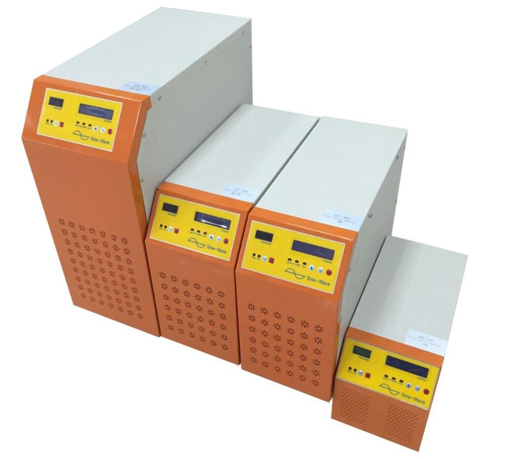 2000w 3000w 5000w Pure Sine Wave Inverter Solar Hybrid Home Dc Ac On Use High Efficiency