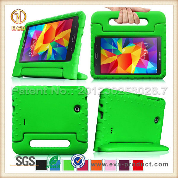 Hot selling in alibaba shockproof 8 inch thick silicone tablet case for samsung galaxy tab 4