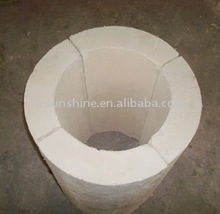 Calcium silicate insulation pipe