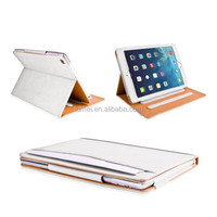 Leather Stand Case For Ipad Air 2 Case, For Ipad holder with slot card case for apple ipad air 2