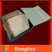 Custom Luxury Magnetic Gift Collapsible Paper Rigid Folding Box for Storage