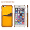 Fading Color Genuine Leather Cell Phone/Mobile Phone Case/Cover for iPhone 6/6plus for Lady/Female