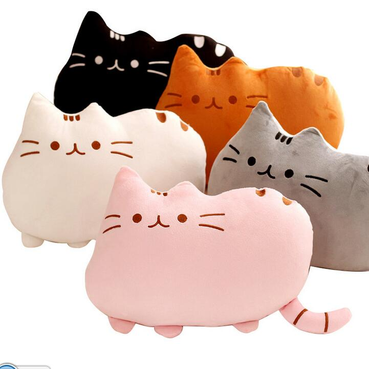 25cm Plush Toy Atuffed Animal Doll, Anime Toy Pusheen Cat for Girl Kid Kawaii Cute cushion Car Decoration Brinquedos