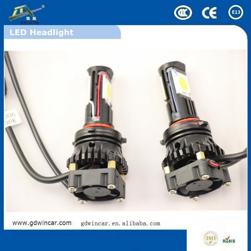 12v Led Head Light 80w h7 Auto Headlight <strong>Cree</strong> Ce Approved Led Car Indicator Lights For 2H 9006