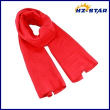 HZW-13768005 best quality 2015 yiwu styles normal new model winter red fleece neck warmer scarf