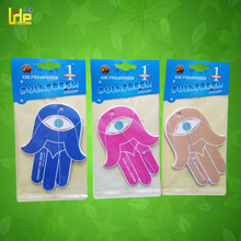 customized popular auto perfume / paper car air freshener with deodorant effect use for car and home