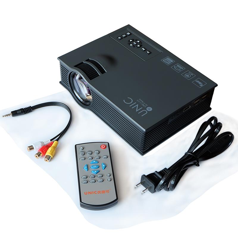 High quality pocket projector unic uc46 mini led projector for High resolution pocket projector