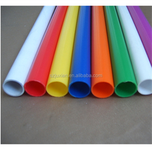 pvc colour tubes plastic tube for crafts colors plastic tube for toys