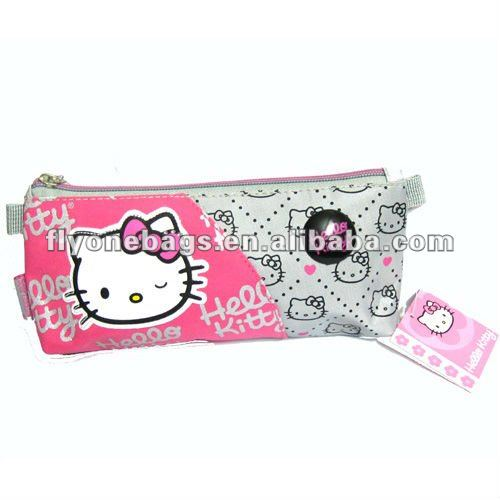 Hello Kitty pencil cases