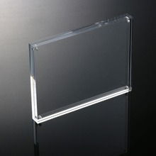 Clear Acrylic Magnetic Photo Picture Frame, Double Sided Acrylic Picture Photo Frames Plexiglass Magnetic Photo Frame
