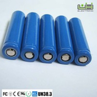 electronic cigarette battery 18650 lithium ion battery 1300mah 3.7V