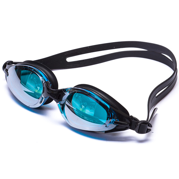 Professional 3 Size Adult Mirrored Swimming Goggles With individual case