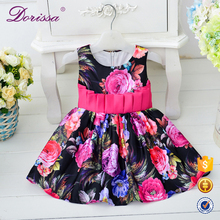 childrens clothing japanese child models wax print dress for children winter long sleeved casual dress