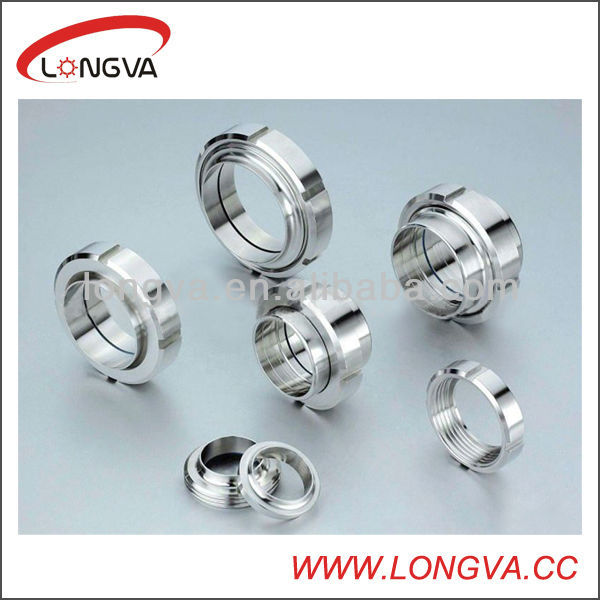 ss304 ss316l stainless steel pipe fitting union