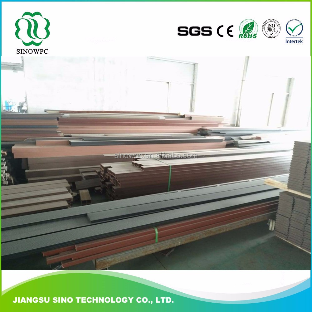 WPC low carbon prefabricate hollow decking