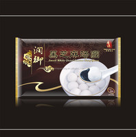 Chinese manufactuer directly supply Side gusset 450g dumpling balls Plastic packaging