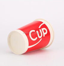 disposable pe coating instant food container with lid,individual food packaging paper cup paper cups microwave safe