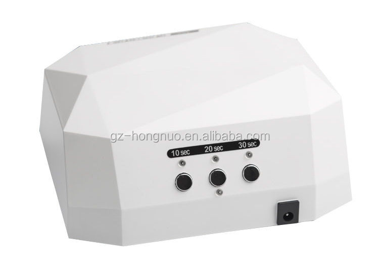 Diamond Shaped 36W LED UV Lamp Nail Dryer Curing Light HN1972