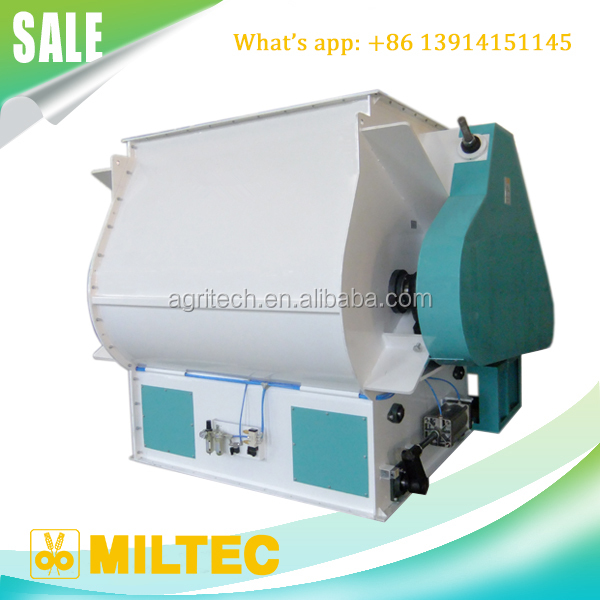 SLHJ Double Shaft Paddle Mixer for grain and powder in Feed mill