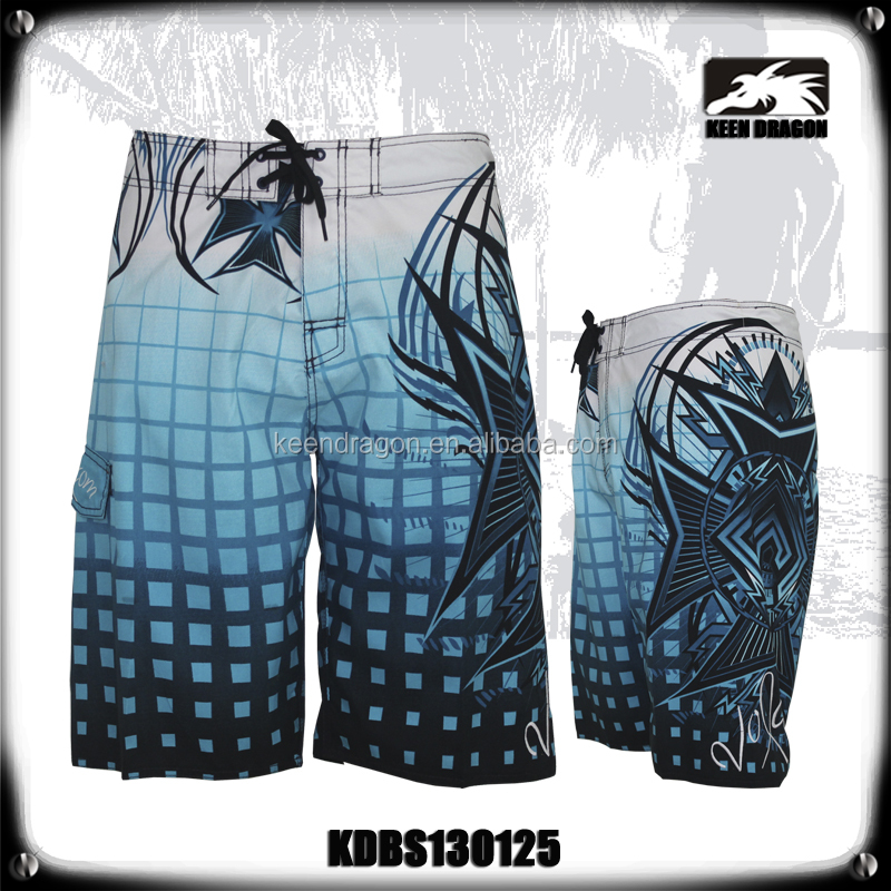 Private Label Board Shorts Manufacture European Mens Swimwear