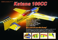 "large scale Katana-106"" gas engine 100cc adults rc airplane manufacturers china"