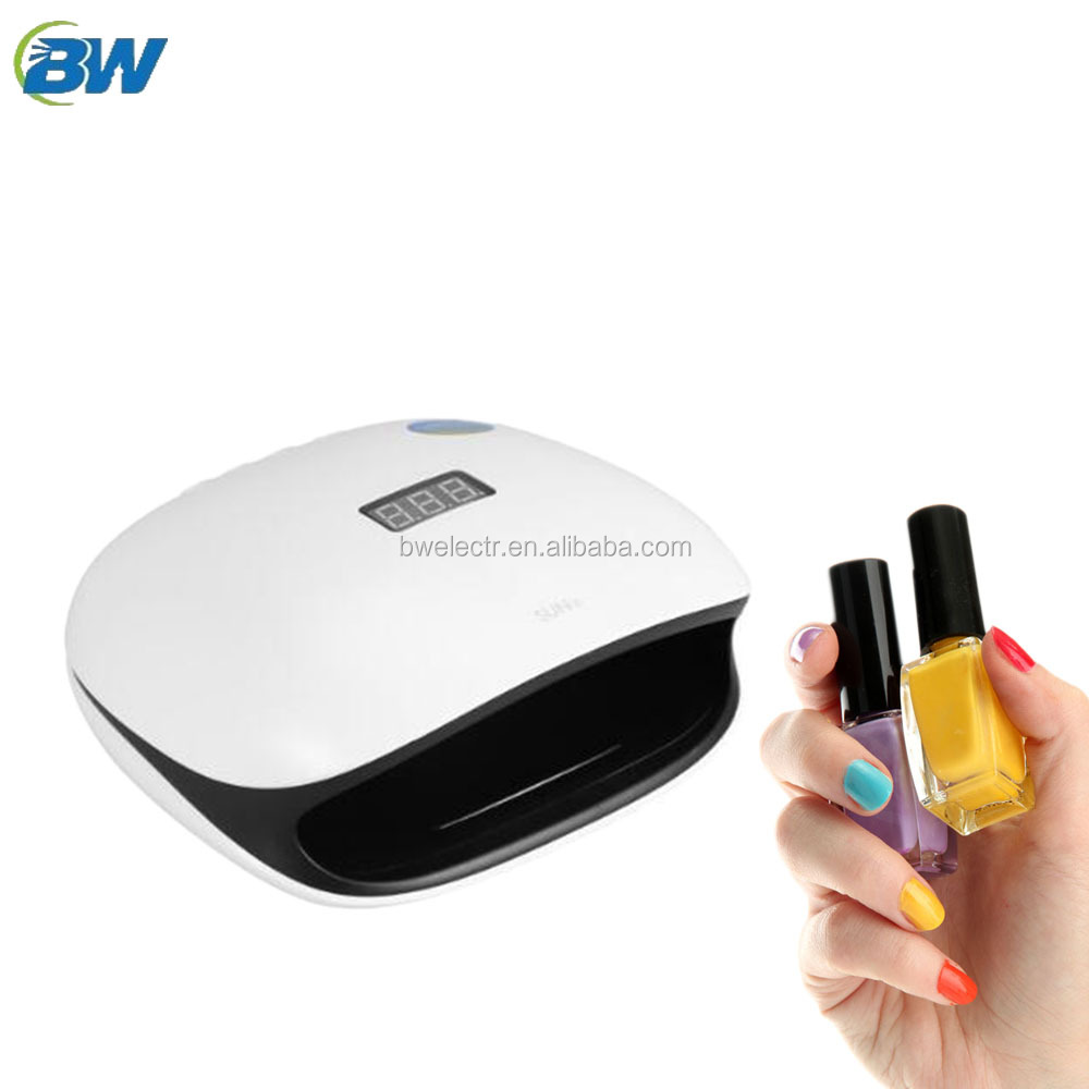 2017 new technology 48w nail dryer with fan and uv light for lady