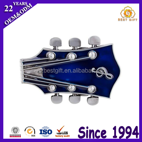 Different Design Men Vintage Guitar Western Belt Buckles