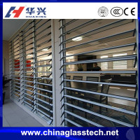 New design factory manufacturer cheaper price tempered glass aluminum jalousie window frames