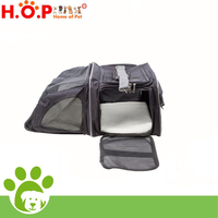 Expandable Foldable Soft-sided Dog Purse Carrier Dog Carry Bag Trolley Pet Carrier