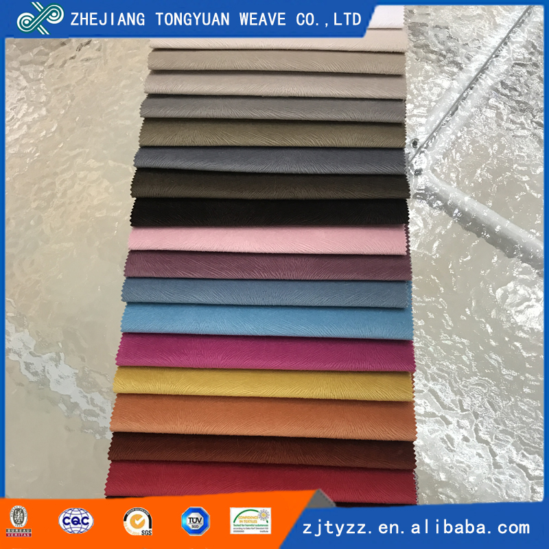Factory supply wholesale colorful spray polyester pony hair fabric