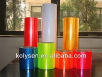 KOLYSEN clear PVC Twist Film for candy packaging