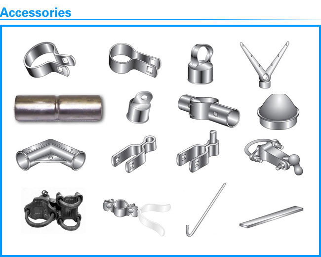 Galvanzied Fence Hardware Chain Link Fence Accessories