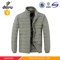 2015 Fashion men quilted 100% Nylon ultralight down jacket for the winter